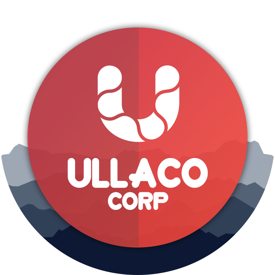 Ullaco Corp Logo.  A local Calgary Website Design and Website Development Agency