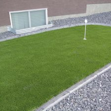 artificial grass putting green landscape design