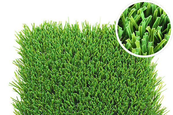 Cascade Elite artificial grass or synthetic lawn. Showcase or snapshot of this artificial grass