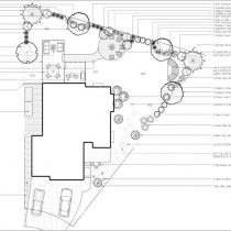 Crestridge landscape design or drawing in Calgary