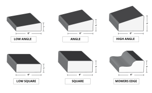 Standard Curb Appeal or Concrete Curbing Residential Molds. Molds include; Block, LP Super, LP Slant, Dome, Super and traditional slant